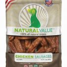 Loving Pets Natural Value Soft Chew Chicken Sausages 14oz