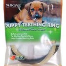 N-Bone Puppy Teething Ring Natural Chew Treat-Pumpkin Flavor