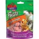 Kaytee Fiesta Yogurt Chip Strawberry Yogurt Small Animal  Treat 3.5oz