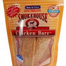 Smokehouse USA Made Chicken Barz 4oz reseal bag
