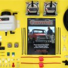 HHO DUAL DRY CELL KIT HYDROGEN GENERATOR FUEL ECONOMY MPG ELECTROLYZER BROWN GAS MAP EFIE