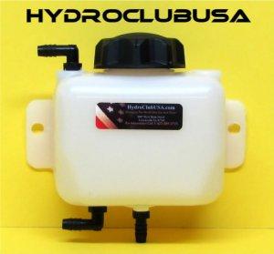 HHO DRY CELL RESERVOIR BUBBLER KIT HYDROGEN GENERATOR FUEL ECONOMY MPG GAS EFIE 1 QUART 1 QT