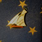 Miami Beach Sailboat Pin