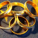 Yellow aluminum Ring Size 8