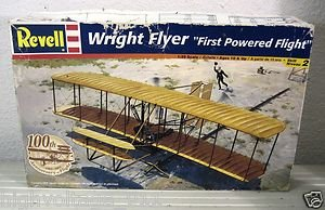 """Revell Wright Flyer """"First Powered Flight"""" 1:39 Scale Model Kit #85-5243"""