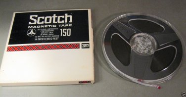 "7 Inch Reel to Reel Audio Tape - 1/4"" by 1800', 1 mil"