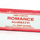 ROMANCE Scent  Incense Sticks Agarbatti Shri Saibaba Shree Sai Baba India - 15g