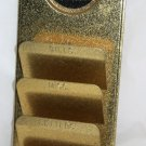 "Vintage Metal ""Call Pins By Number Not Cussin' Name"" Bowling Wall Mail Holder"