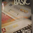ATARI BASIC Programming Manual / Learning Guide for 400 / 800 Computers (1979)