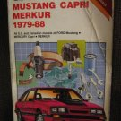 Ford Mercury Mustang Capri Merkur 1979-1988 Service Repair Manual Chilton #6963
