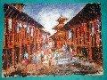 Street Painting of Nepal (50cm x 38cm) # CLKPA-6