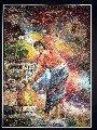 Painting of Newari Woman (50cm x 38cm) # CLKPA-9