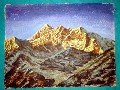 Painting of wonderful Mountain (50cm x 38cm) # CLKPA-10