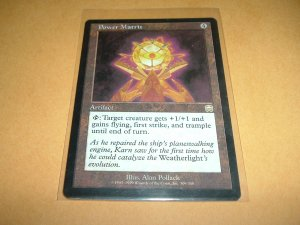 Power Matrix (Magic MTG: Mercadian Masques Card #309) UNPLAYED Artifact RARE, for sale