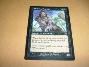 Skulking Fugitive (Magic MTG: Mercadian Masques Card #161) Black Common, for sale