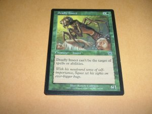 Deadly Insect (Magic MTG: Mercadian Masques Card #238) Green Common, for sale