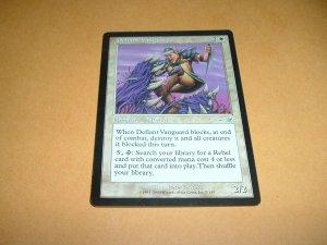 Defiant Vanguard (Magic, The Gathering: Nemesis Card #7) UNPLAYED White Uncommon, for sale