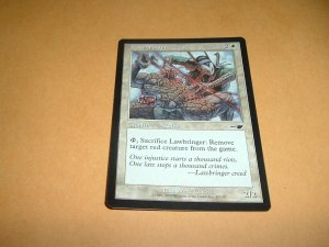 Lawbringer (Magic, The Gathering: Nemesis Card #10) White Common, for sale