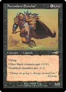 Ascendant Evincar MINT & UNPLAYED (Magic, The Gathering MTG: Nemesis Card #51) Black RARE, for sale