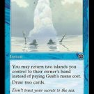 Gush (Magic MTG: Mercadian Masques Card #82) UNPLAYED Blue great-instant Common, for sale