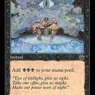 Dark Ritual (Magic MTG: Mercadian Masques Card #129) UNPLAYED Black very powerful card, for sale