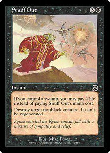 Snuff Out (Magic MTG: Mercadian Masques Card #162) Black Common, for sale