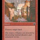 Stone Rain (Magic MTG: Mercadian Masques Card #215) Red Common, for sale