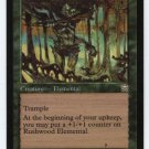 Rushwood Elemental (Magic MTG: Mercadian Masques Card #264) UNPLAYED Green RARE, for sale