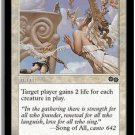 Congregate (Magic MTG: Urza's Saga Card #8) White Common, for sale