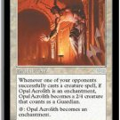 Opal Acrolith - MINT (Magic MTG: Urza's Saga Card #22) UNPLAYED White Uncommon, for sale