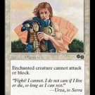 Pacifism (Magic MTG: Urza's Saga Card #27) White Common, for sale
