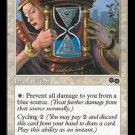 Rune of Protection: Blue (Magic MTG: Urza's Saga Card #37) White Common, for sale
