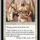 Voice of Law - VF+/NEAR MINT (Magic MTG: Urza's Saga Card #55) UNPLAYED White Uncommon, for sale