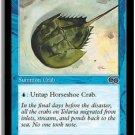 Horseshoe Crab (Magic MTG: Urza's Saga Card #80) Blue Common, for sale