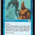 Gilded Drake - MINT UNPLAYED (Magic MTG: Urza's Saga Card #76) Blue RARE, for sale