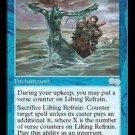 Lilting Refrain - MINT (Magic MTG: Urza's Saga Card #83) UNPLAYED Blue Uncommon, for sale