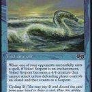 Veiled Serpent (Magic MTG: Urza's Saga Card #110) Blue Common, for sale