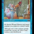 Wizard Mentor (Magic MTG: Urza's Saga Card #112) Blue Common, for sale