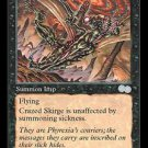 Crazed Skirge - MINT (Magic MTG: Urza's Saga Card #125) UNPLAYED Black Uncommon, for sale