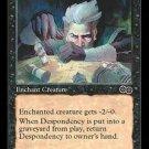 Despondency (MTG: Urza's Saga Card #129) Black Common, Magic the Gathering card for sale