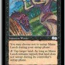 Mana Leech - MINT (Magic MTG: Urza's Saga Card #141) UNPLAYED Black Uncommon, for sale