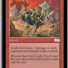 Acidic Soil - NEAR MINT+ (Magic MTG: Urza's Saga Card #172) UNPLAYED Red Uncommon, for sale