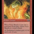 Fiery Mantle (MTG: Urza's Saga Card #186) Red Common, Magic the Gathering card for sale