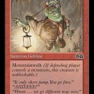 Goblin Spelunkers (MTG: Urza's Saga Card #195) Red Common, Magic the Gathering card for sale