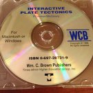 Interactive Plate Tectonics CD-Rom