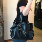 Handbag - Hollywood Institution by Jaye Hersh - Black Leather