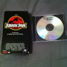 Jurassic Park (1994, Video, VHS Format) wth back up DVD