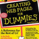 Creating Web Pages for Dummies with disc