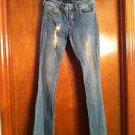 Women's/ Juniors Refuge Flare Leg Size 3 Jeans  (#7)
