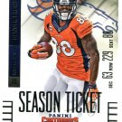 2014 Panini Contenders Football Card #16 Demaryius Thomas